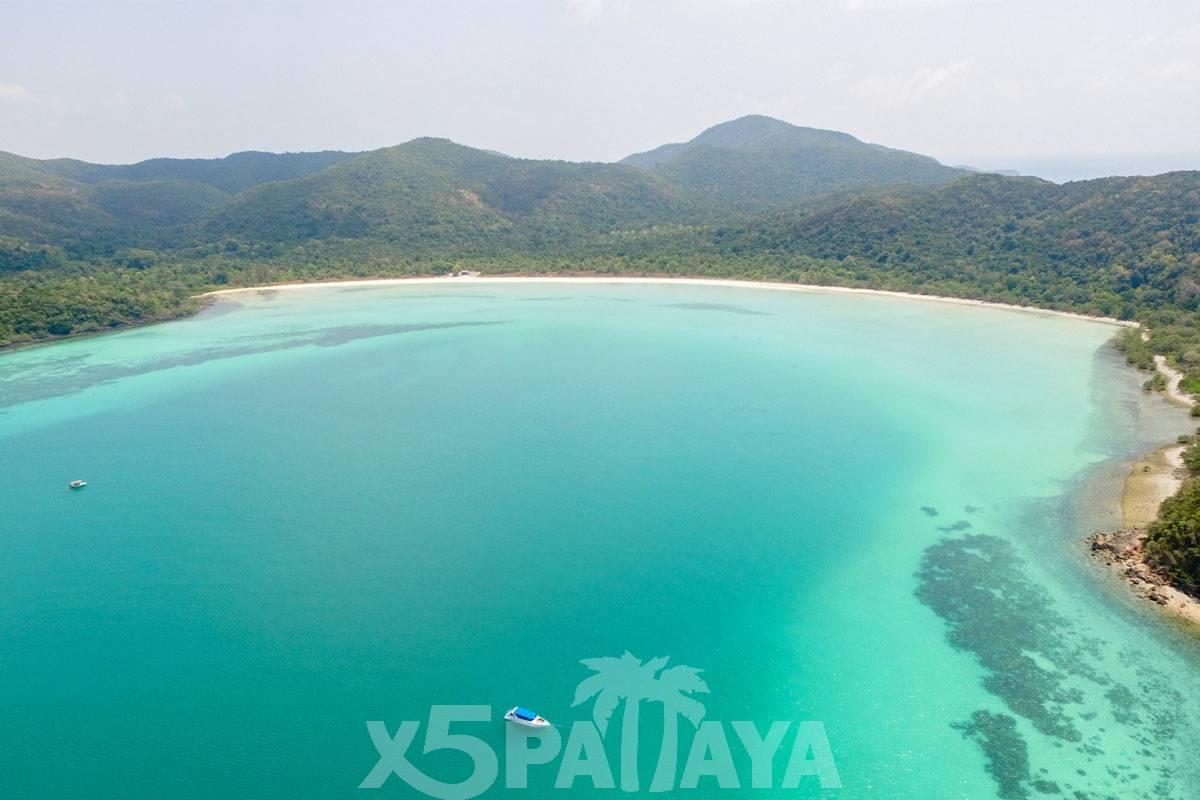 фото острова с высоты